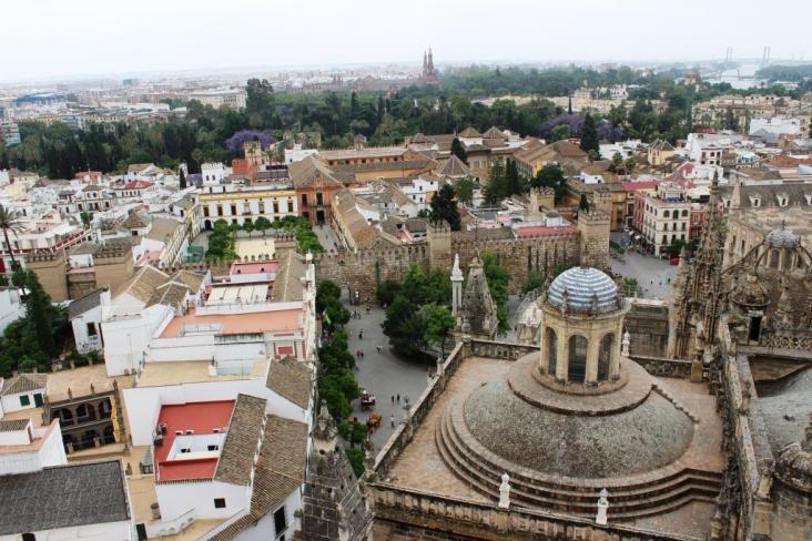 Giralda Categrala din Seville