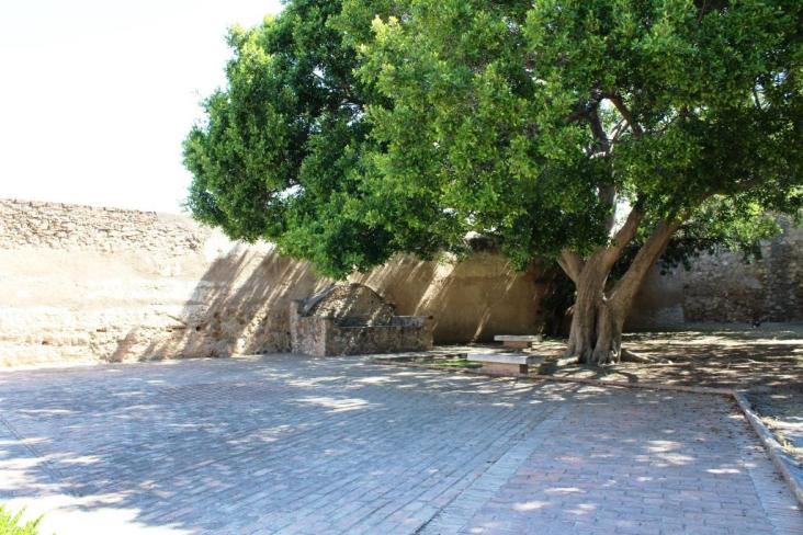 Interior Castillo de Gibralfaro