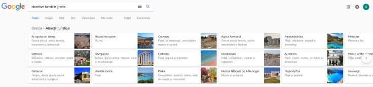 Obiective turistice google.ro