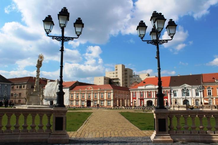 Piata Unirii Timisoara