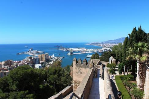 Priveliste Castillo de Gibralfaro