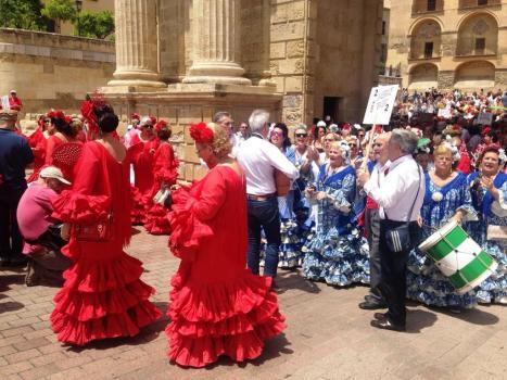 Sarbatoare flamenco Cordoba