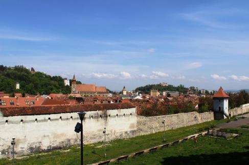 Zidul cetatii Brasov