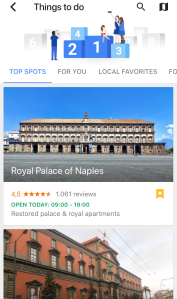 Google Trips - Things to do