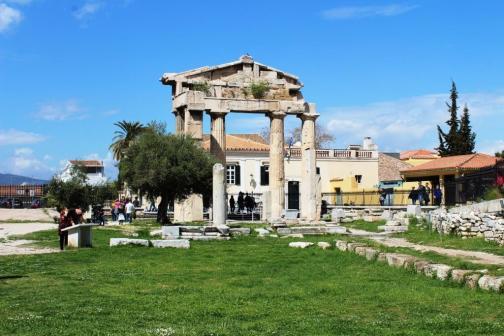 Roman Agora Atena