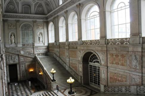 Interior Palatul Regal Napoli