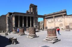 Pompeii ruine
