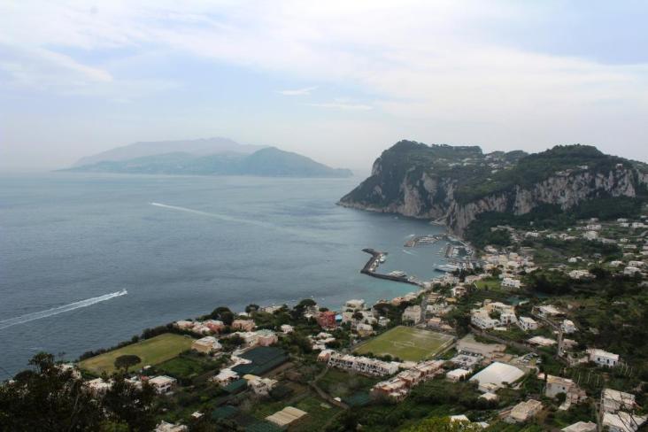 Priveliste Capri