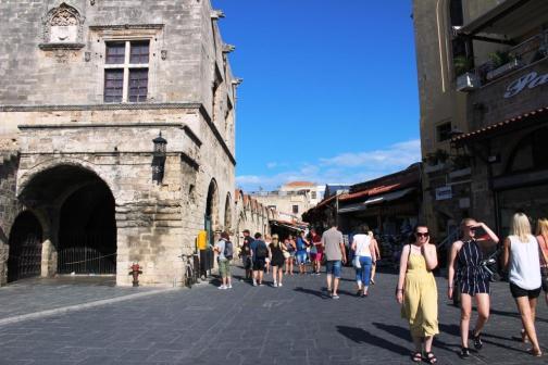 Strada cetate Rhodos