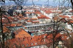 Ljubljana de sus