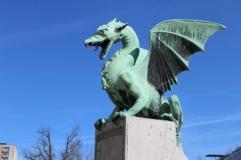 Podul cu dragoni, Ljubljana