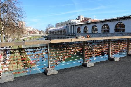 Podul dorintelor, Ljubljana