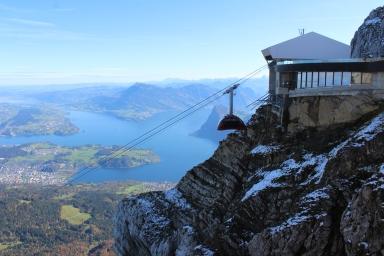 Priveliste Mt. Pilatus, 2132 m
